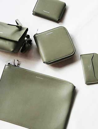 Leather goods collection