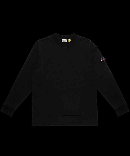8 MONCLER PALM ANGELS / LONG SLEEVE T-SHIRT