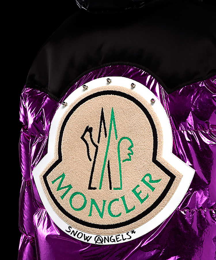 8 MONCLER PALM ANGELS / DOWN JACKET