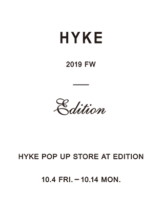HYKE POP UP STORE at GRAND FRONT OSAKA