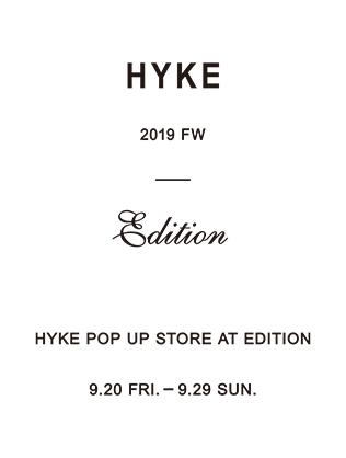 HYKE POP UP STORE at LUMINE SHINJUKU
