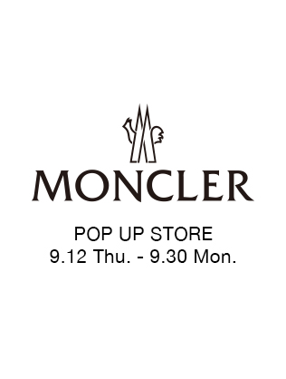 MONCLER POP UP STORE at GRAND FRONT OSAKA