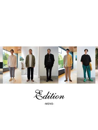 Edition MONTHLY MENS STAFF SNAP VOL.1