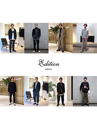 Edition MONTHLY MENS STAFF SNAP VOL.3