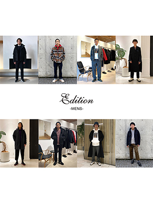 Edition MEN'S MONTHLY STAFF SNAP VOL.5