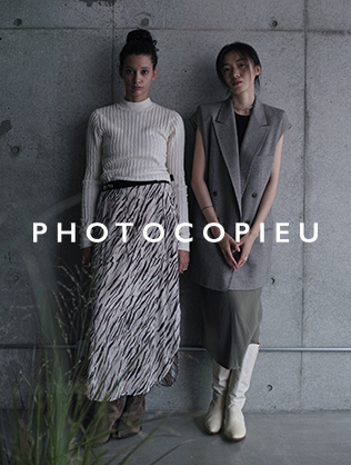 PHOTOCOPIEU 2021 Spring Summer Collection 1st Delivery